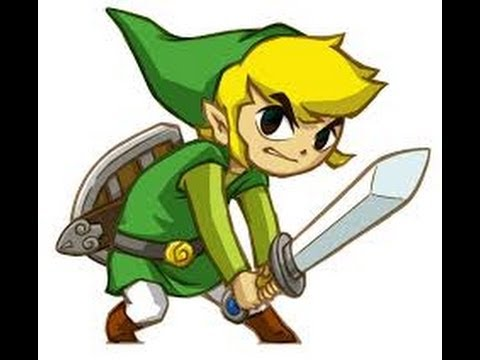 How to draw toon link from wind waker